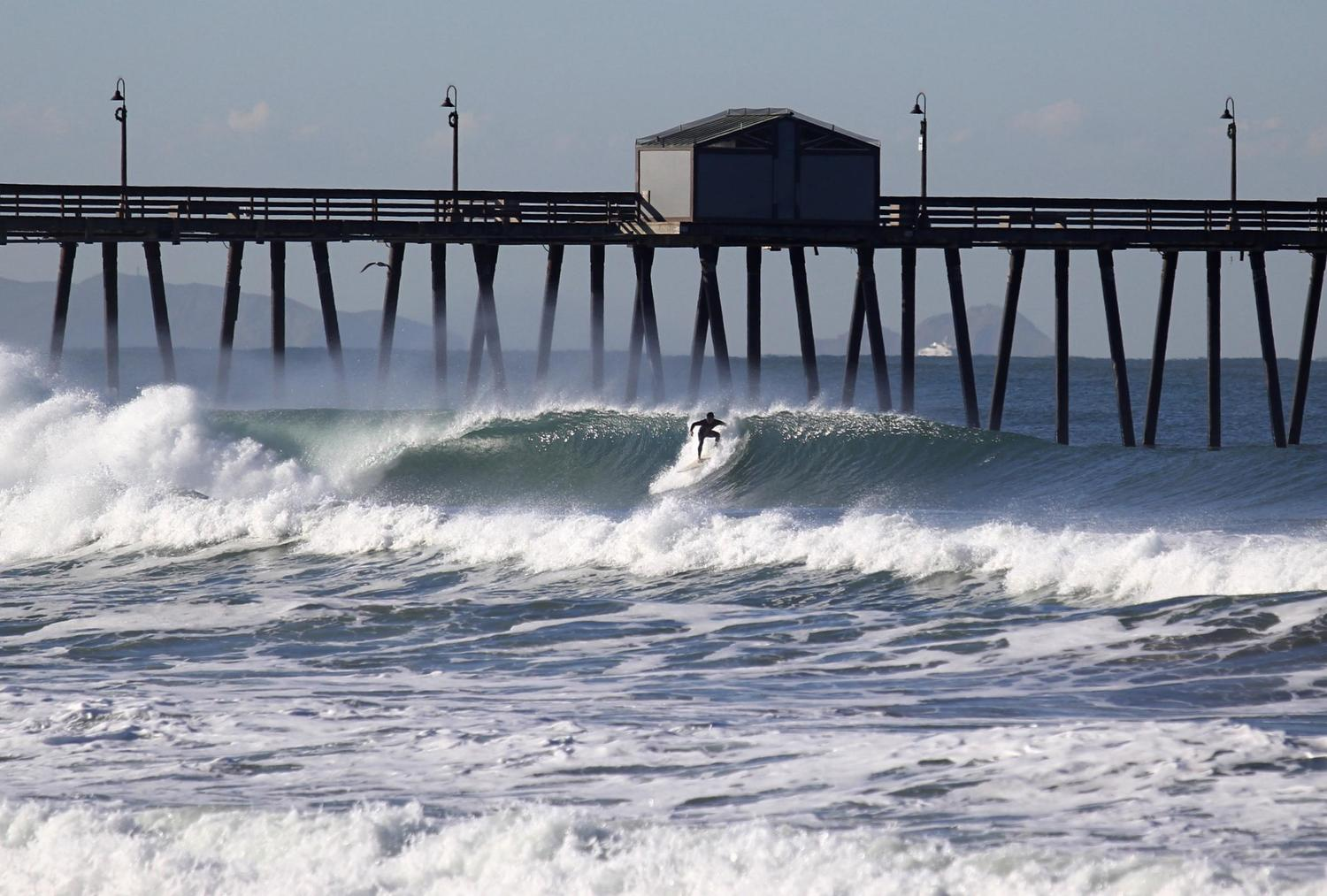 Pacific Beach Surf Report, Live Surf Cams & 17-Day Surf